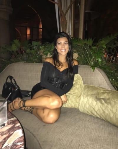 Kourtney Kardashian on Friday Night