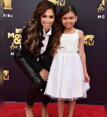 Farrah and Sophia at the MTV Movie Awards