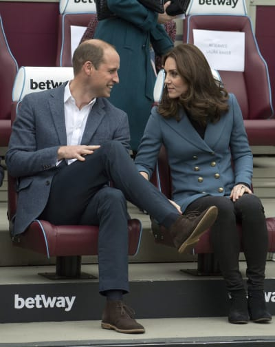 Kate Middleton: Chillin' With William