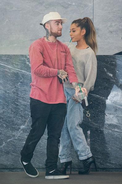Ariana Grande & Mac Miller In New York