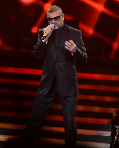 George Michael Concert Pic