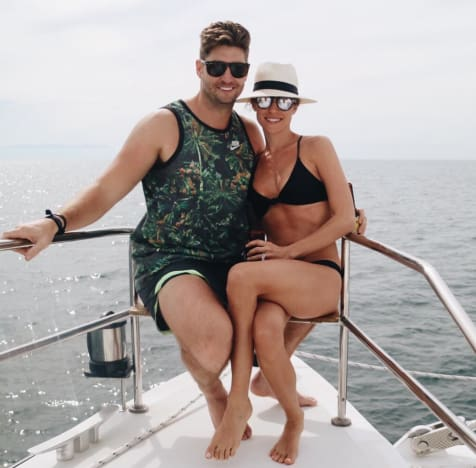 Kristin Cavallari & Jay Cutler in Mexico