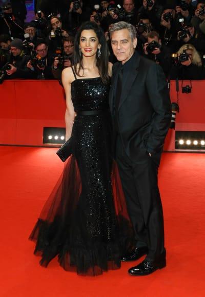 George & Amal Clooney: 'Hail, Caeser!' Berlin Premiere