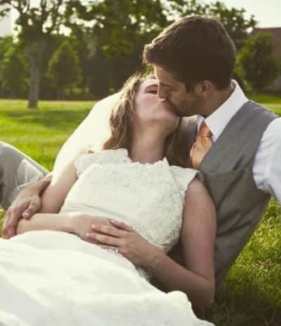 Jill Duggar Wedding Pic