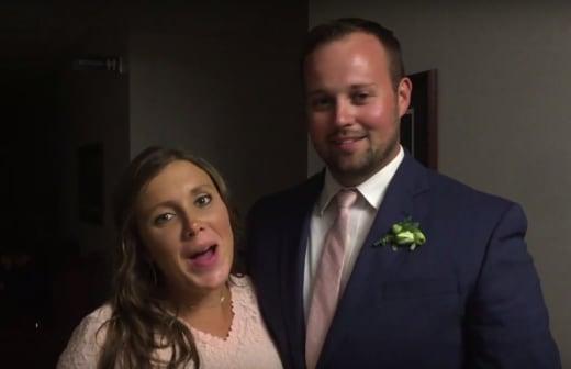 Josh and Anna at Joseph Duggar's Wedding