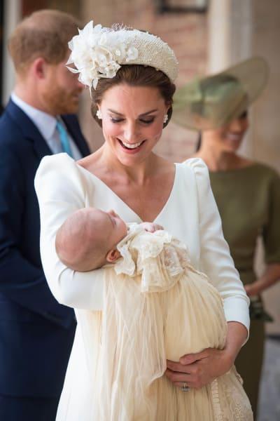Kate Middleton at the Christening