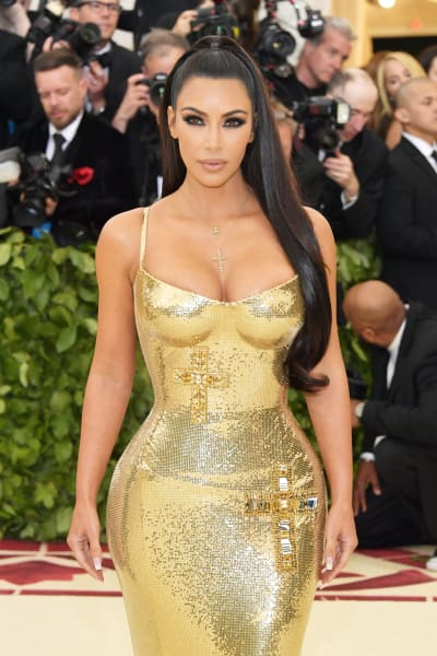 Kim Kardashian at the 2018 Gala