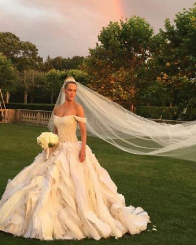 Peta Murgatroyd Wedding Dress