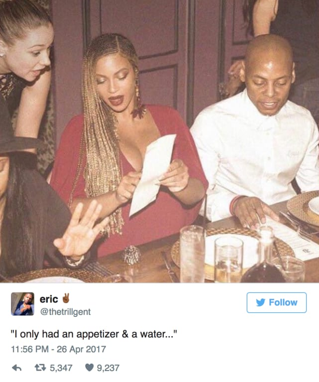 You dont overcharge queen bey