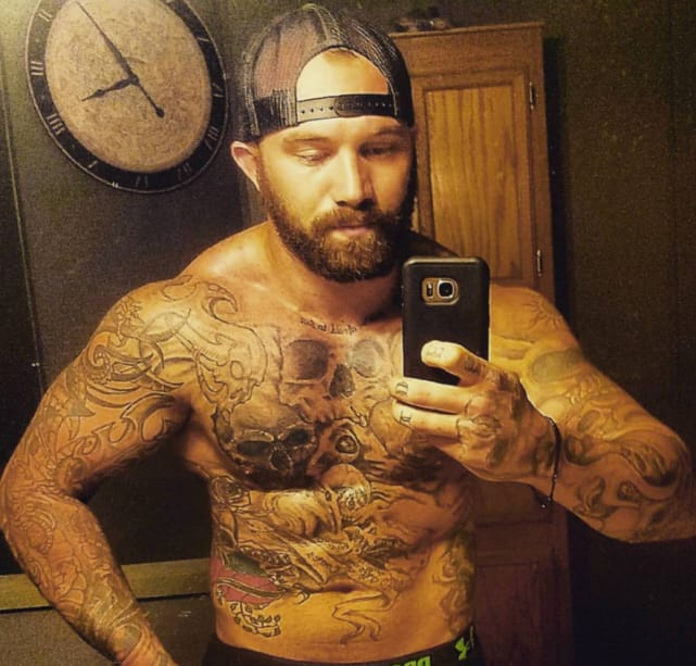 Adam lind shows off his body