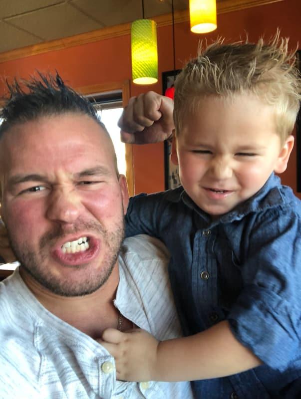 Nathan and kaiser being tough