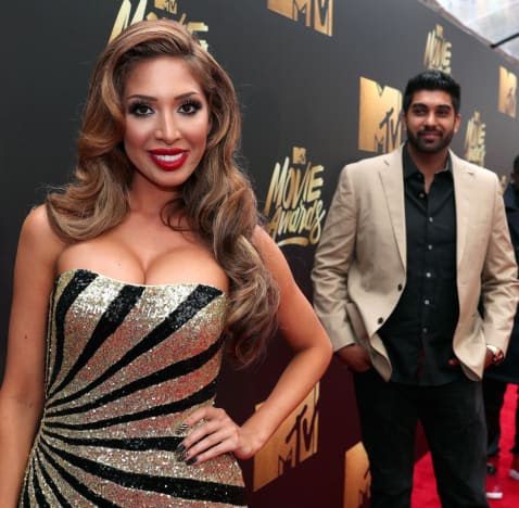 Farrah Abraham, Simon Saran MTV Movie Awards Photo
