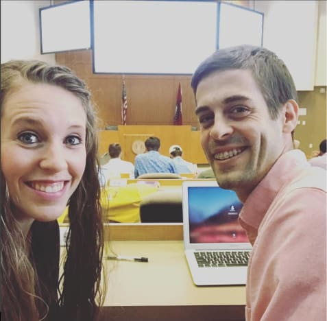 Jill Duggar and Derick Dillard in Class