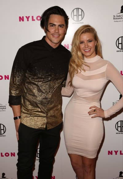 Tom Sandoval & Ariana Madix: NYLON Magazine's Muses and Music party