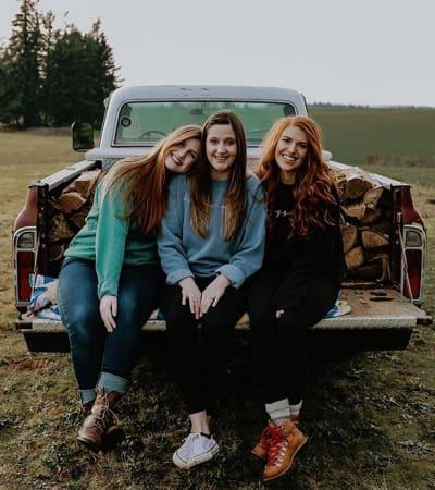 Isabel Rock, Tori Roloff, Audrey Roloff