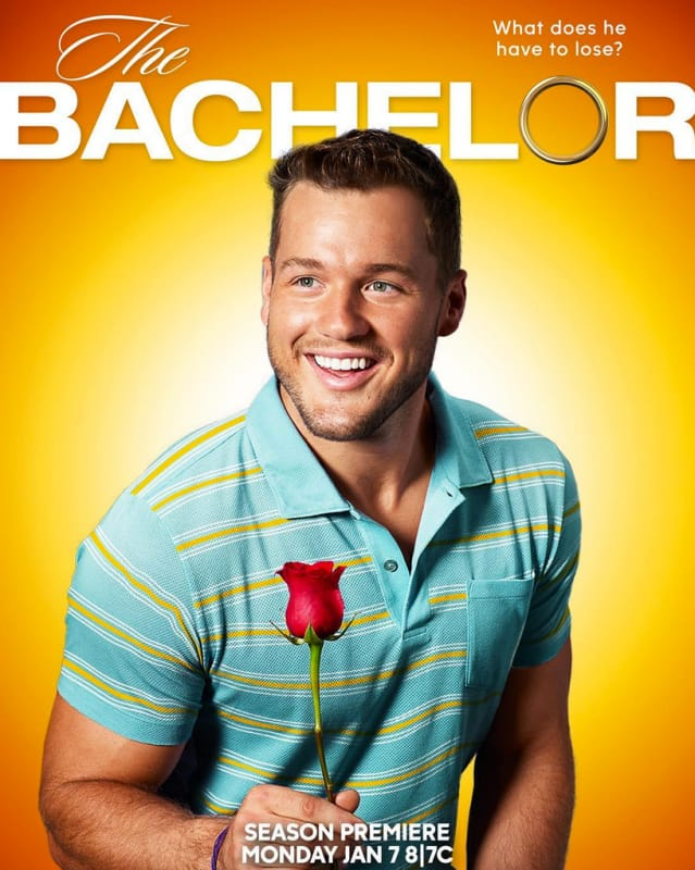 Colton underwood 40 year old virgin tribute poster