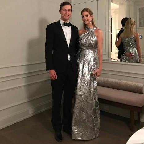 Ivanka Trump and Jared Kushner in Formal Wear