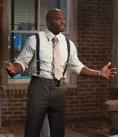 Terry Crews on Brooklyn 99