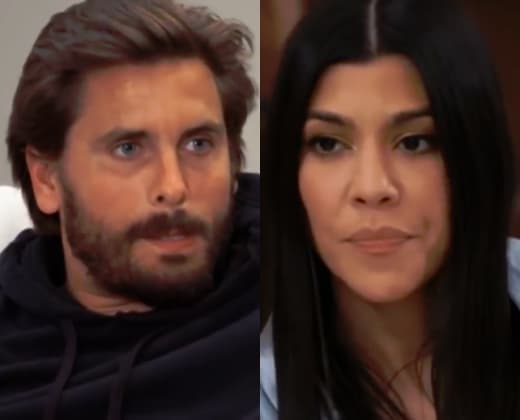 Scott Disick, Kourtney Kardashian Split - KUWTK