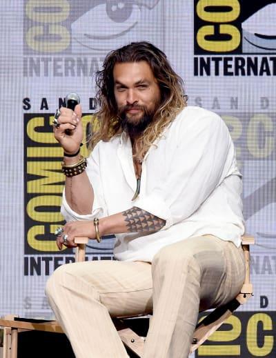 Jason Momoa at ComicCon