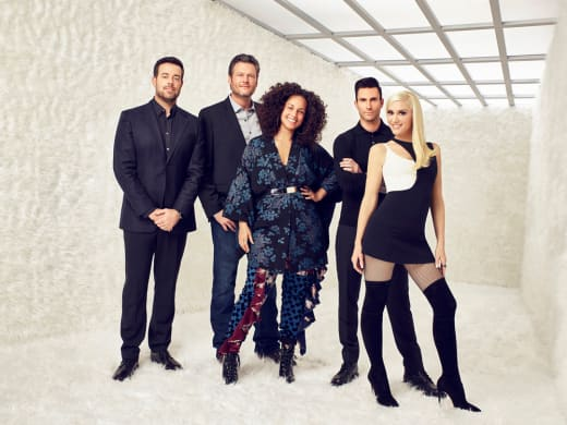 The Voice Season 12 Cast