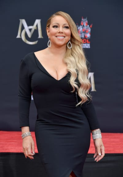 Mariah Carey on a Red Carpet