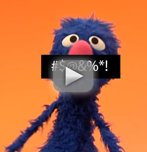 Did grover drop an f bomb on sesame street a nation debate