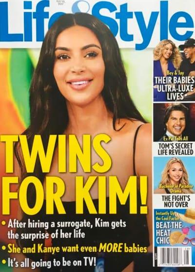 Kim Kardashian: Twins?