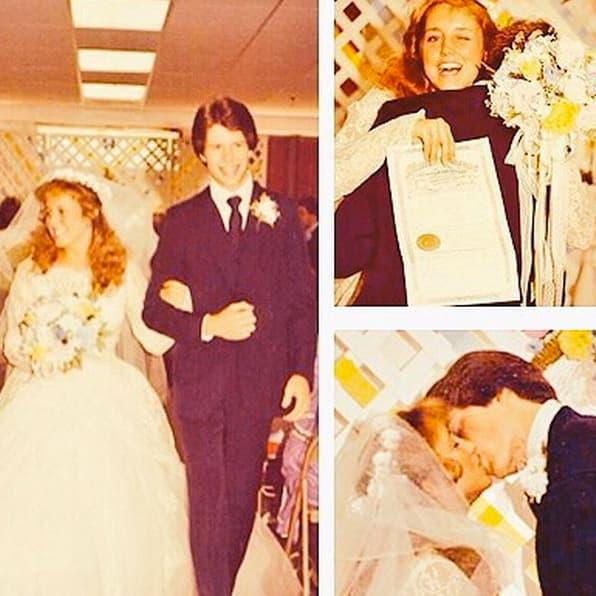 Jim bob and michelle duggar wedding pics