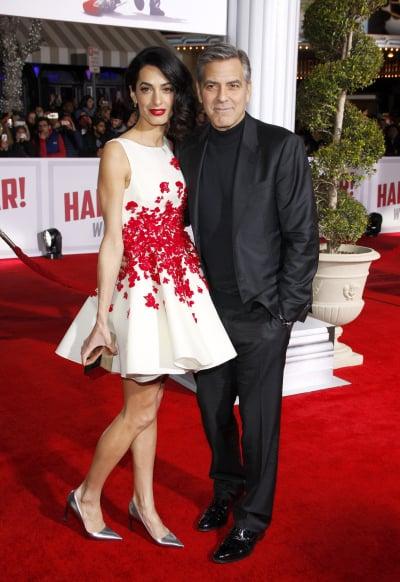 George & Amal Clooney: 'Hail, Caeser!' Premiere
