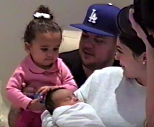 Chicago West, Dream Kardashian, Rob Kardashian, Kylie Jenner