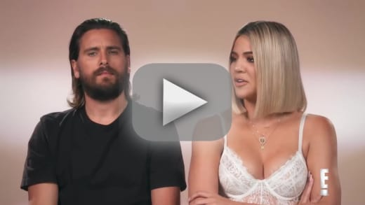 Khloe kardashian and scott disick pull lame prank on kris jenner