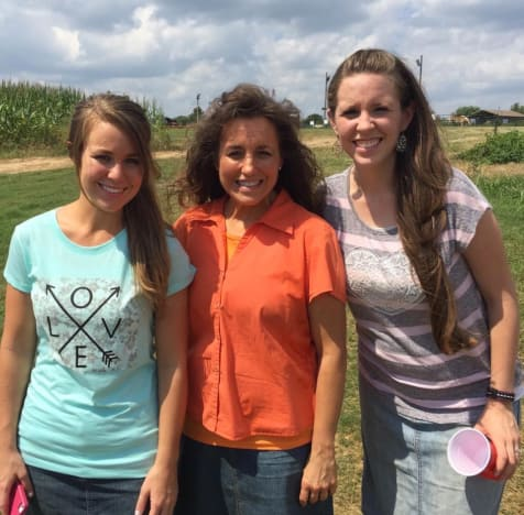 Jana, Michelle and Jill