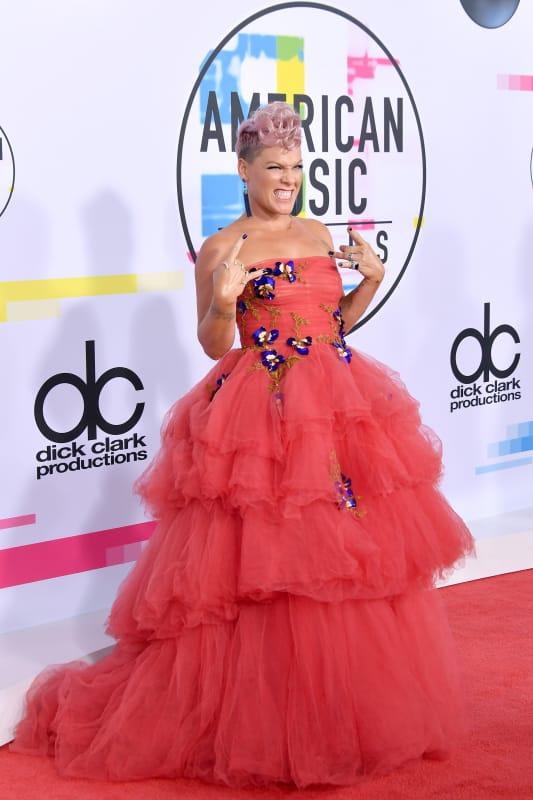 Pink at 2017 amas