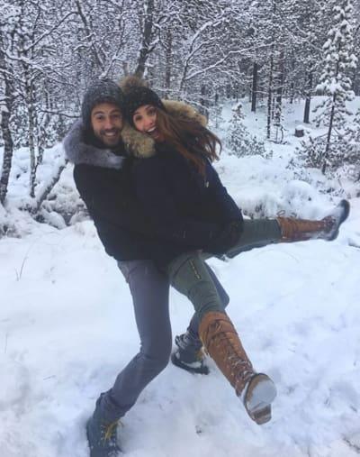 Vanessa Grimaldi with Nick Viall