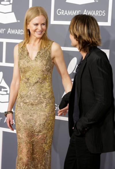 Nicole Kidman at the 2013 Grammys
