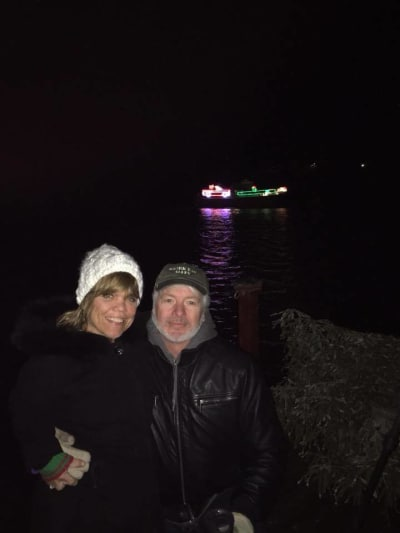 Amy Roloff and Chris Marek, Cold Outside 2017