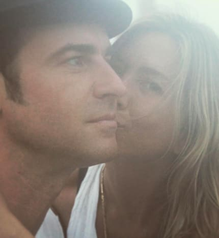 Justin Theroux Anniversary Pic