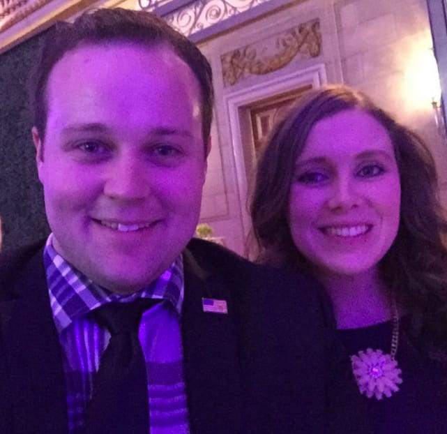 Anna and josh duggar bible launce event in dc