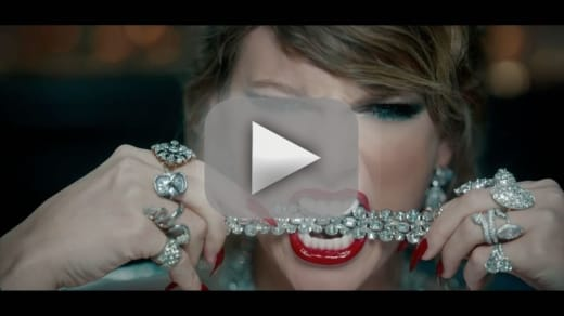 Taylor swift get the first look at her new music video
