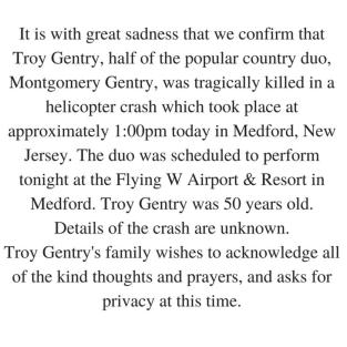 Troy Statement