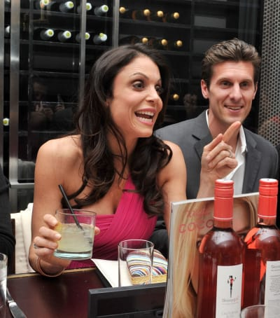 Bethenny Frankel with Jason Hoppy