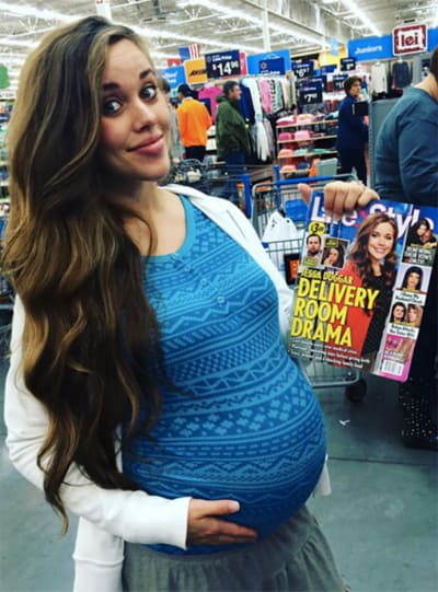 Jessa Duggar Baby Bump Number One Photo