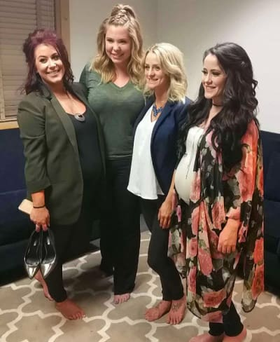 The Teen Mom 2 Cast Reunion Pic!