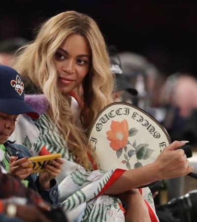 Beyonce Has a Good Seat