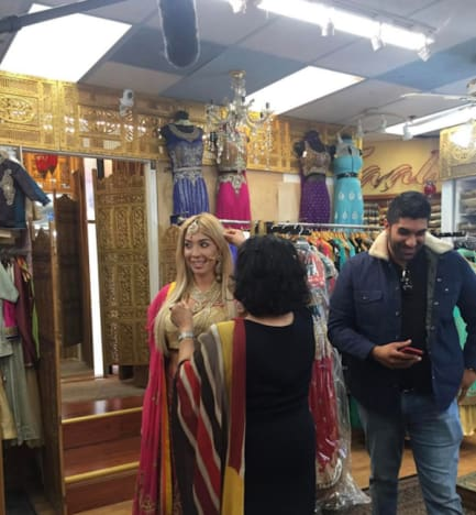 Farrah Abraham in Bridal Shop