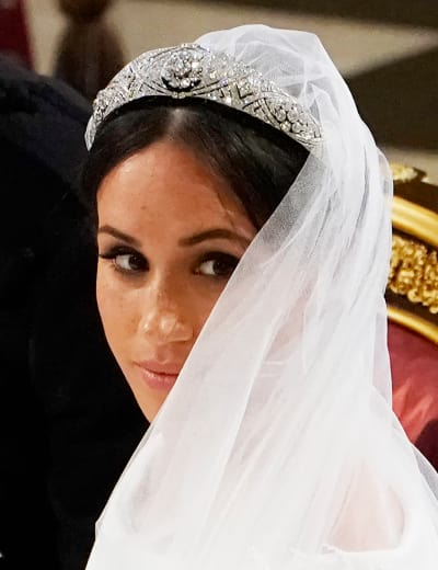 Meghan Markle Wedding Close-Up