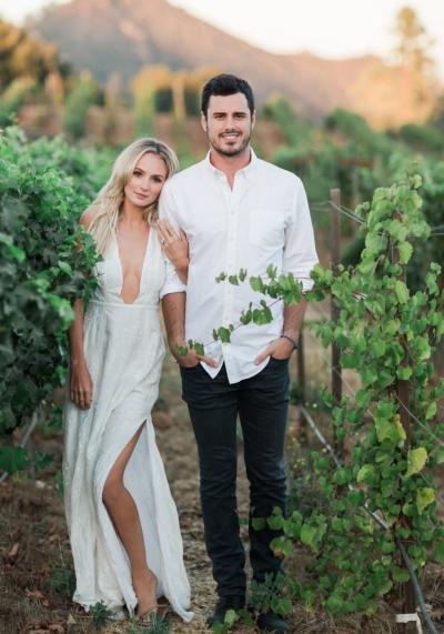 Ben Higgins & Lauren Bushnell Engagement Photo