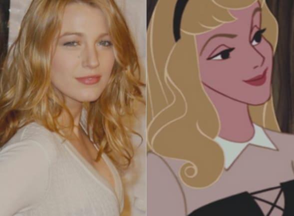 Disney Princess Celebrity Look Alikes  Hello from