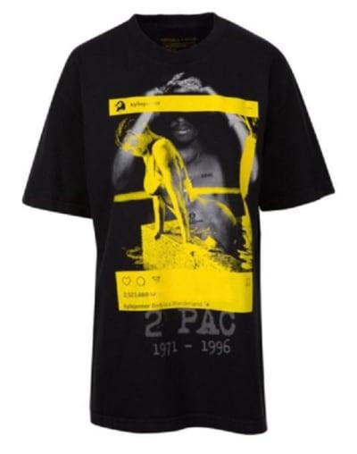 Kylie Jenner Tupac Shirt